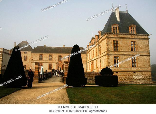 France, Cormatin Castle In Burgundy Region
