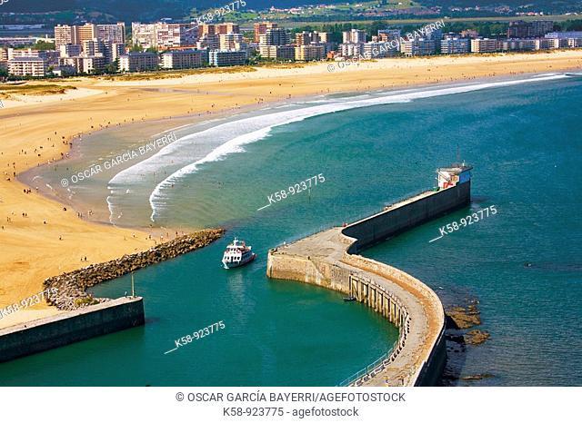 Port of Laredo, Cantabria, Spain