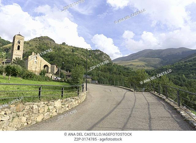La Nativitat romanesque church in Durro Lleida Catalunya Spain