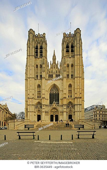 Cathedral of St. Michael and St. Gudula, Brussels, Brussels Region, Belgium