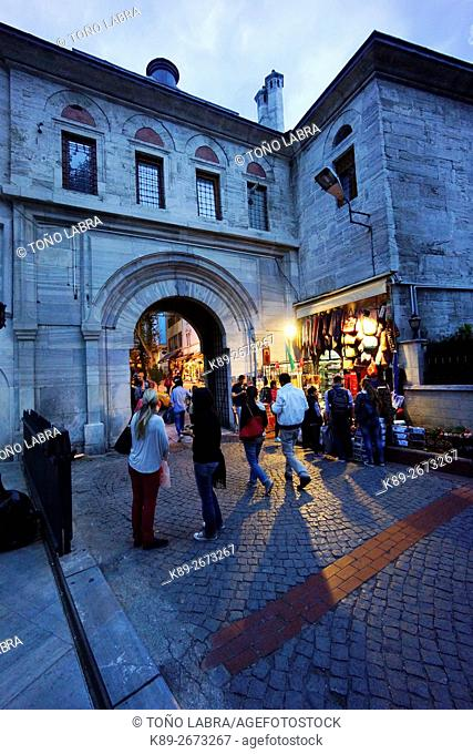 Grand Bazar door. Istanbul. Turkey