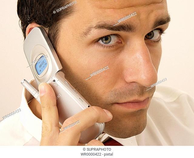 Man mobile phone