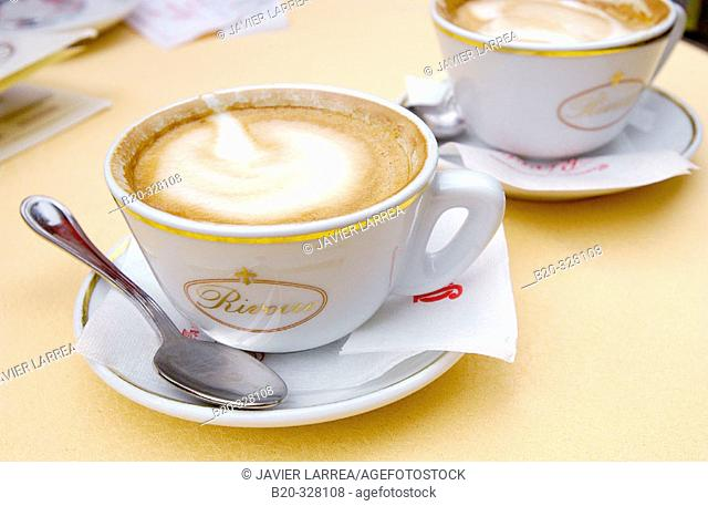 Cappuccino. Florence. Tuscany, Italy
