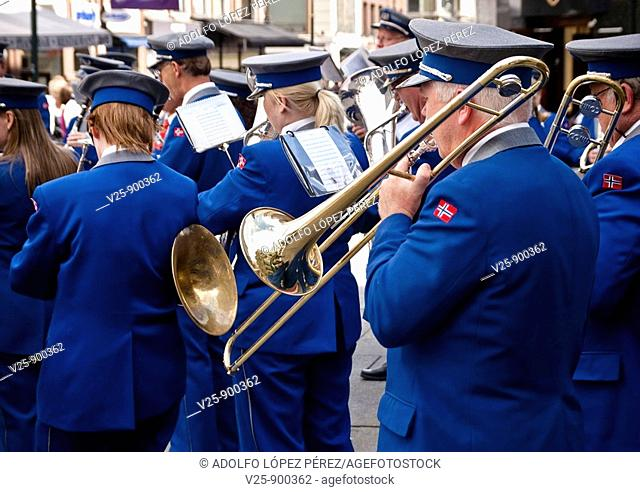 Music band. Norway, Oslo