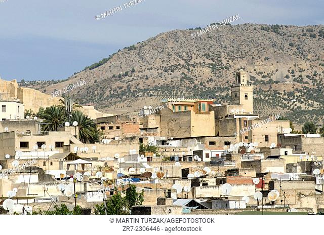 View of Fes medina, Morocco