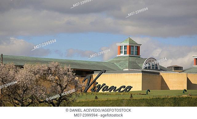 Vivanco wine museum, Briones village, Rioja wine region, Spain, Europe