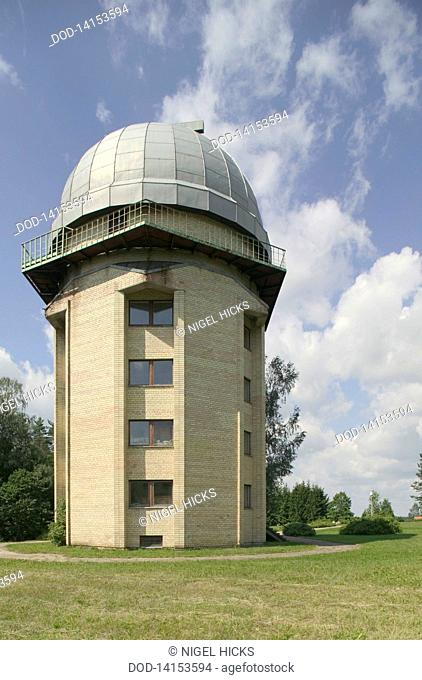 Lithuania, Moletai, View of astronomical observatory