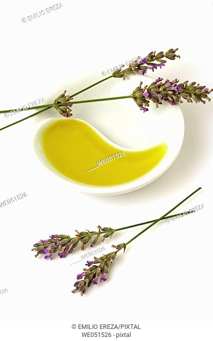 Lavender essential oil (Lavandula officinalis)