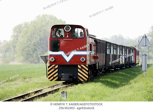Narrow-Gauge Railway, Museum, Wenecja, Wielkopolska, Poland