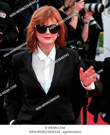 The Gala Opening Ceremony of the 69th Cannes Film Festival Featuring: Susan Sarandon Where: Cannes, France When: 11 May 2016 Credit: WENN.com