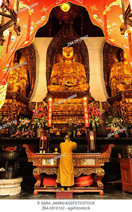 Jade Buddha Temple, Putuo District, Shanghai, China, Asia