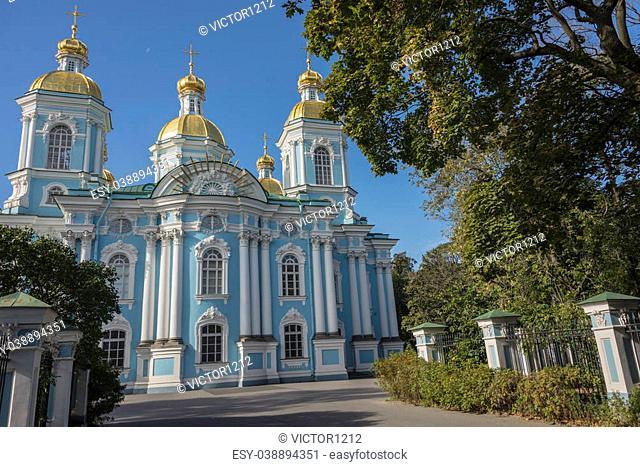 St. Nicholas Naval Cathedral. St. Petersburg