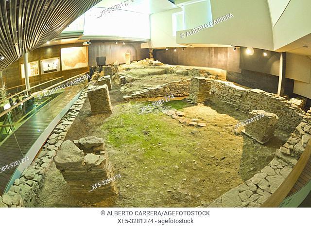University Museum Domus do Mitreo, Roman Historical Archaeological Site, Lugo City, Lugo, Galicia, Spain, Europe