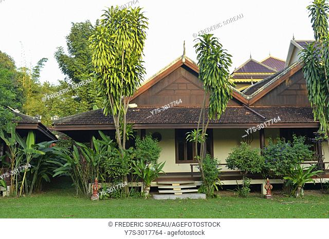 Terres Rouges Lodge in Banlung, Ratanakiri Province, Cambodia, South East Asia, Asia