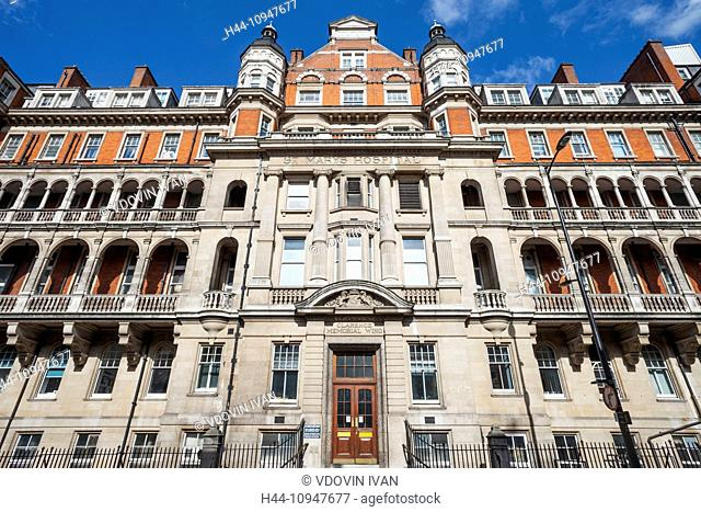 England, London, Paddington, St Mary's Hospital