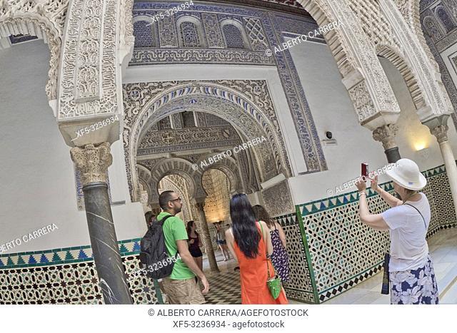 Royal Alcazar of Sevilla, Old Town, Historical Center, Sevilla, Andalucía, Spain, Europe