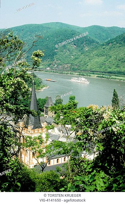 Germany, Bacharach : Old Town