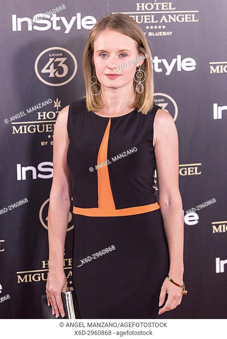 Monika Kowalska attends el jardin de Miguel Angel and In Style beauty night in Madrid, May, 24, 2017 (Photo by Angel Manzano).