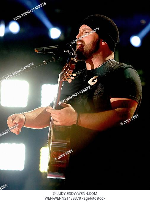 2014 CMA Music Festival Nightly Concerts at LP Field Featuring: Thomas Rhett Where: Nashville, Tennessee, United States When: 08 Jun 2014 Credit: Judy Eddy/WENN