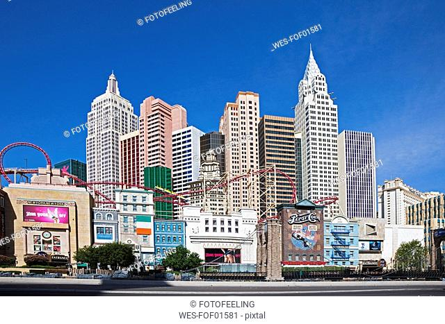 USA, Las Vegas, Hotel New York