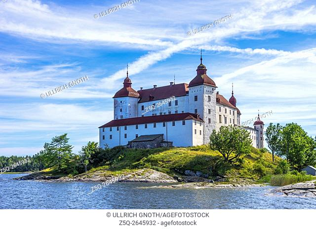Lacko Castle (Läckö slott) at Lake Vanern, West Gothland, Sweden
