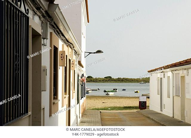 Spain, Huelva, El Rompido is a coastal borough in the municipality of Cartaya which is situated in the province of Huelva  El Rompido was founded sometime in...