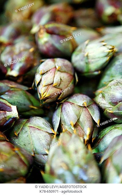 Artichoke, Vucciria Market, Palermo, sicily