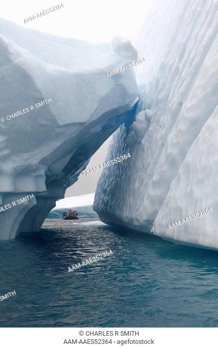Icebergs, Petermann Island, Antarctica