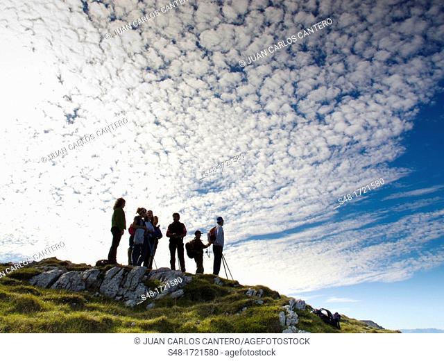 Natural Park Hillocks of Ason. Cantabria. Spain. Europe