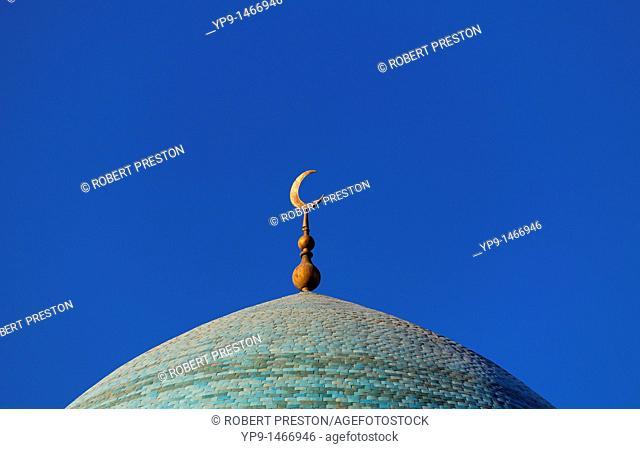 Uzbekistan - Bokhara - dome of the Mir-i-Arab Medressa