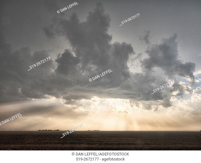 Severe Storms Over Kansas