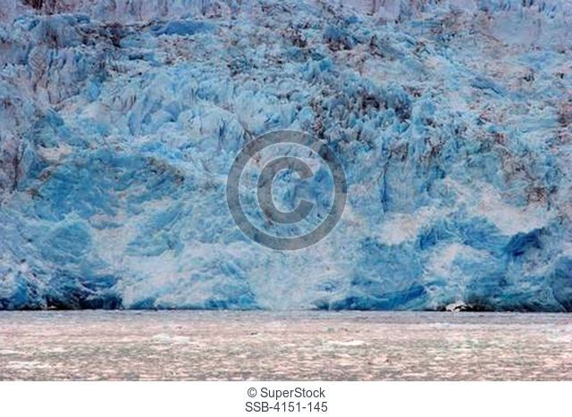 Glacier at ocean side, Amalia Glacier, Bernardo O'Higgins National Park, Patagonia, Chile