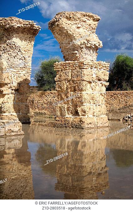 ruins of carthage Tunisia