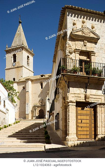 El Salvador church and  manor, La Roda, Albacete province, Castilla-La Mancha, Spain
