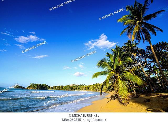 Playa Bonita, pretty beach, Las Terrenas, Dominican Republic