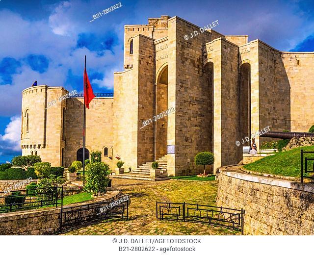 Albania, Krujë, the castle, now Skanderbeu National Museum