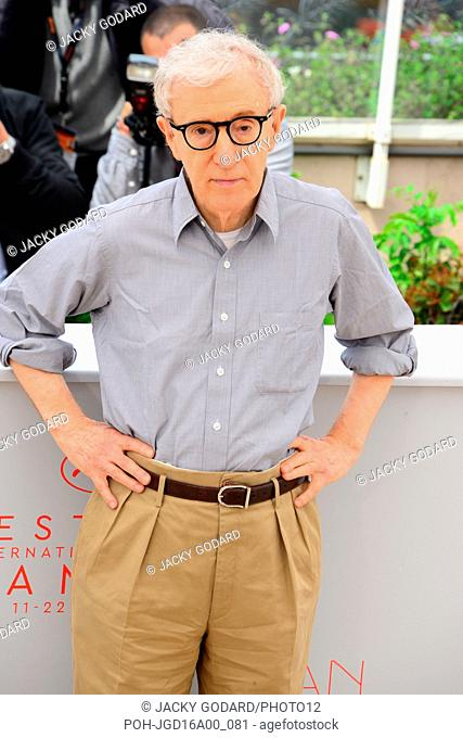 Woody Allen Photocall for the film 'Cafe Society' 69th Cannes Film Festival May 11, 2016