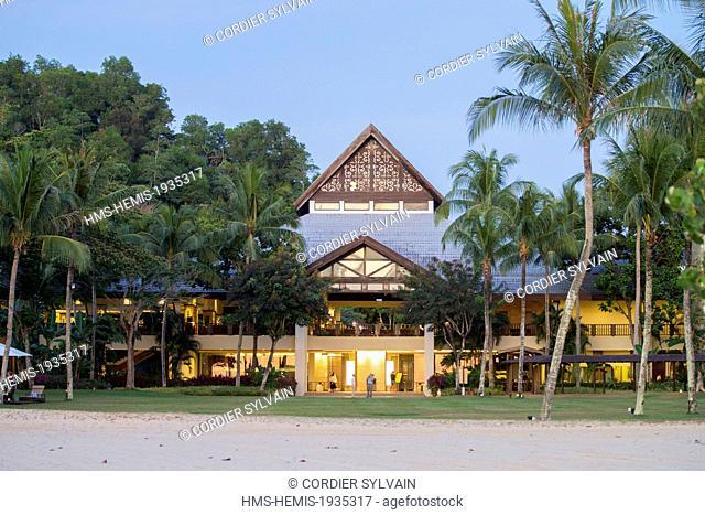 Malaysia, Sabah state, Kota Kinabalu, Shangri-La Resort