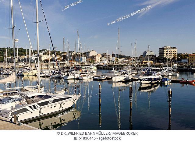 Marina, Cattolica, Province of Rimini, Emilia-Romagna, Adriatic coast, Italy, Europe