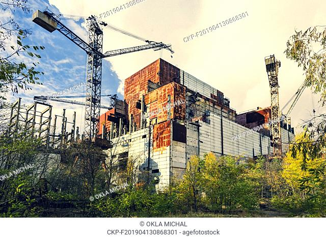 Abandoned territory in Ukraine nearby Chernobyl Nuclear Power Plant. It was evacuated on the 27th of April 1986, day after the most devastating nuclear disaster...
