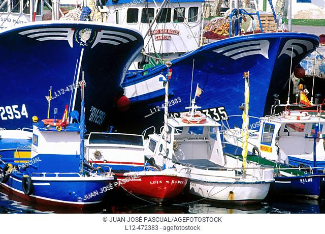 Fishing port of Santoña. Cantabria, Spain