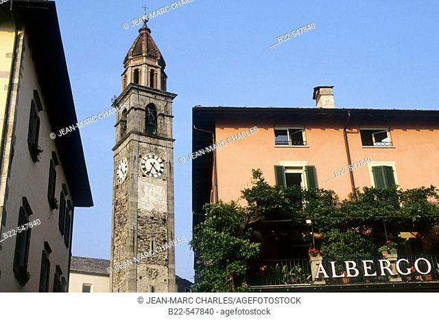 Ascona. Switzerland 's canton of Ticino