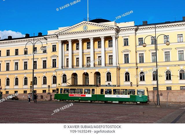 Government Palace, Senate Square, Helsinki, Uusimaa, Finland