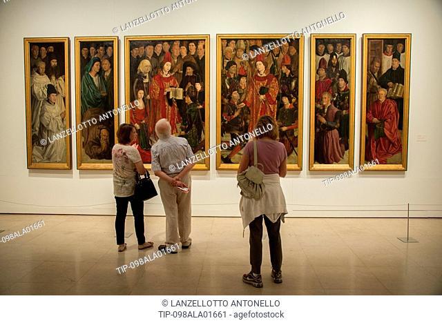 Europe, Portugal, Lisbon, Estrela, National Museum of Ancient Art, Saint Vincent Panels