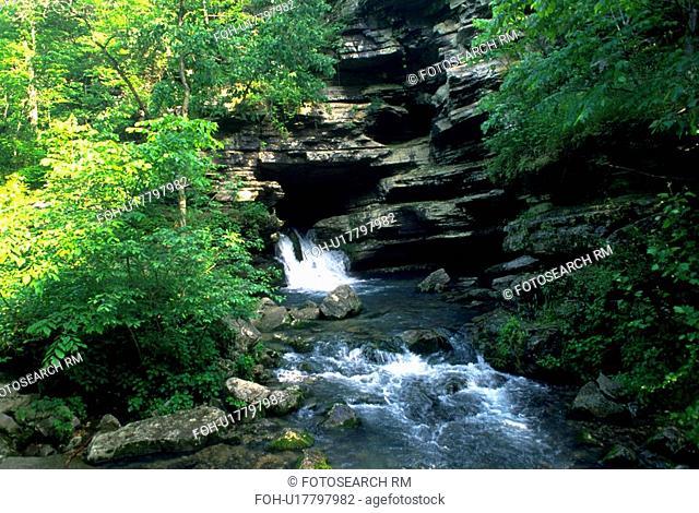 water, springs, rushing, creek, arkansas, blanchard