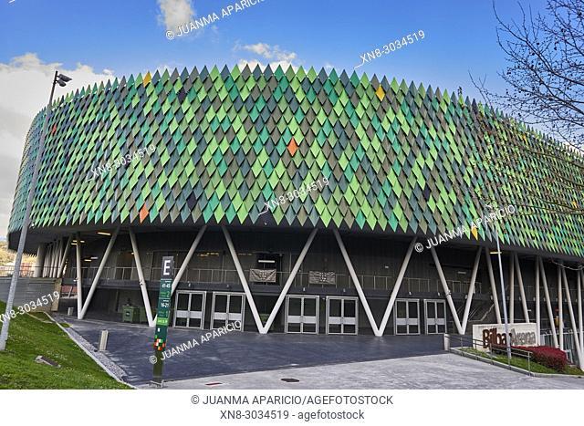 Sport Palace, Bilbao Arena, Miribilla, Bilbao, Biscay, Basque Country, Euskadi, Euskal Herria, Spain, Europe