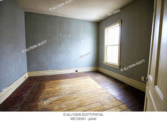 Bedroom prior to renovation, Property Released, Toronto, Ontario, Canada