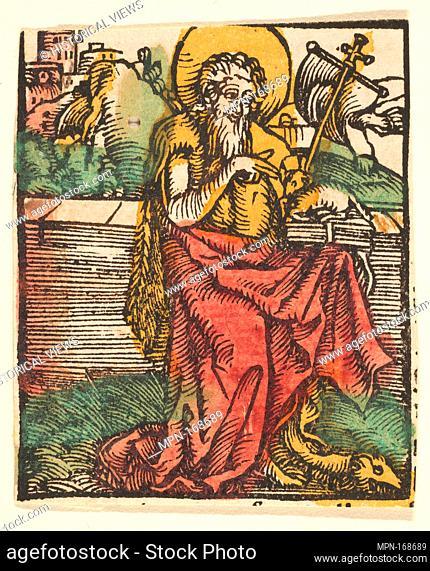 St. John the Baptist (copy). Artist: After Hans Baldung (called Hans Baldung Grien) (German, Schwäbisch Gmünd (?) 1484/85-1545 Strasbourg (Strassburg)); Date:...