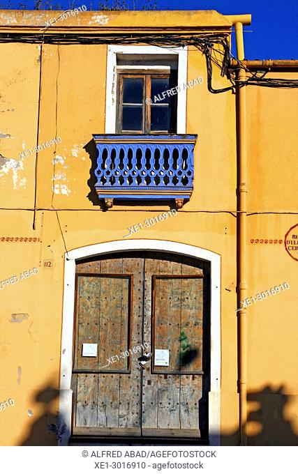 house, La Bisbal de l'Empordà, Girona, Catalonia, Spain