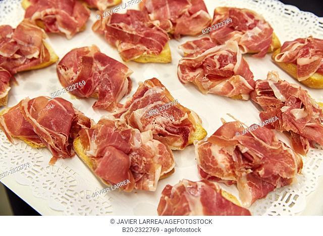 Ham. Catering service. Seminar. Office building. Zamudio. Bizkaia. Basque Country. Spain